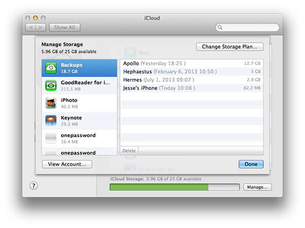Restoring an iCloud backup to an older iPhone