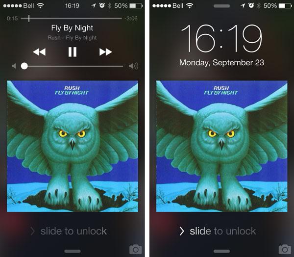 iOS7: Accessing Music Controls