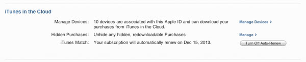 Removing Purchased Apps from iCloud