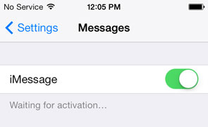 Phone number inactive in iMessage