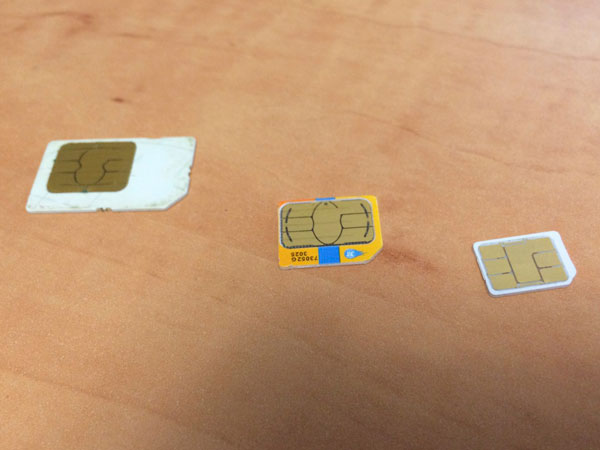 Transferring an iPhone SIM to another family member 1