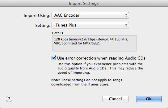 Syncing music from iTunes when using iTunes Match