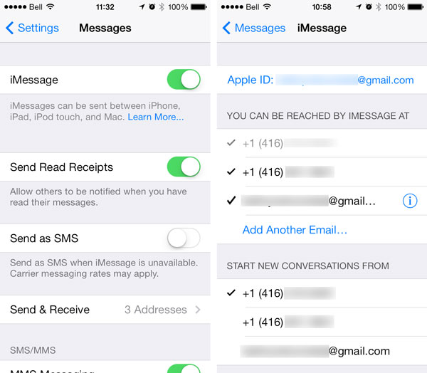 Text messages being delivered to wrong iPhone