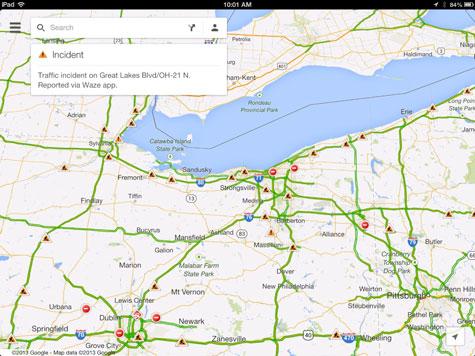 Apps: Google Maps + Waze, OverDrive 3.0, Procreate 1.9 + Sonic Dash 1.5 1