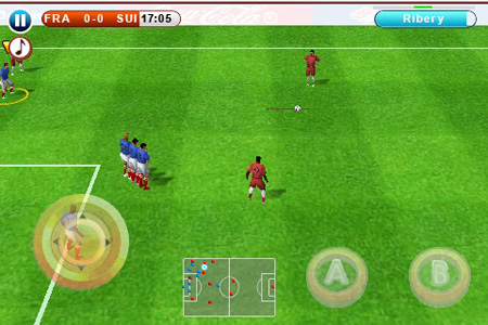 iPhone Gems: Soccer Showdown – FIFA 10 + Real Soccer 2010