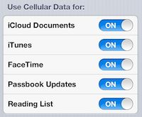 Limiting Cellular Data usage in iOS 6