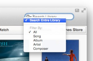 Disabling Live Search in iTunes 11