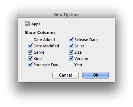 Sorting and Filtering Apps in iTunes 2