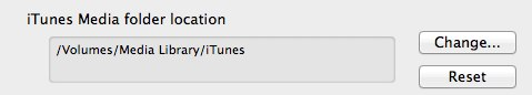 Transferring your iTunes Library 8