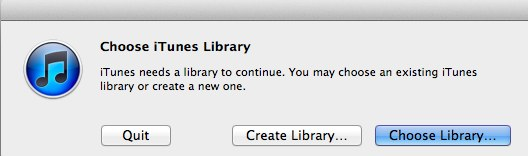 Transferring your iTunes Library 11
