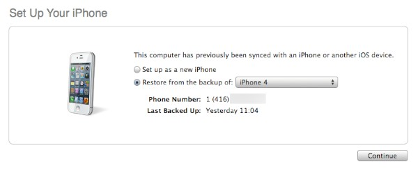 The Complete Guide to Transferring your Content to a new iPhone, iPad or iPod touch 10