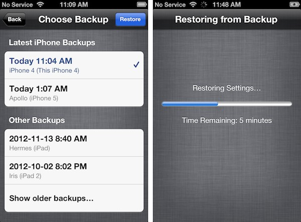 Restoring an iCloud backup to an older iPhone | iLounge Article