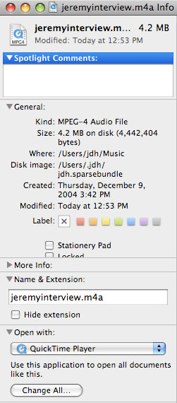 Setting files to open in iTunes automatically