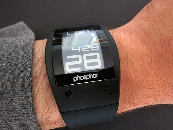 A Few Thoughts on Phosphor's E Ink World Time Sport Watch