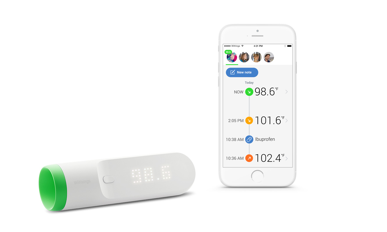 Withings debuts Thermo Wi-Fi Thermometer