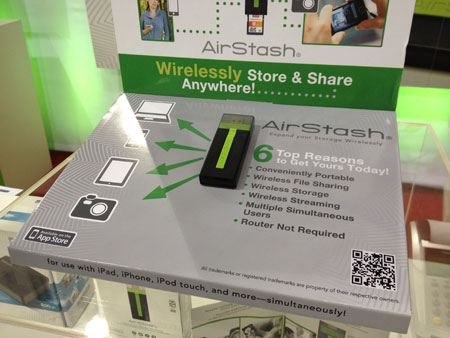 Live from 2012's CES: Key new Apple products, Part 3: AirStash, BulletTrain, Moshi + More 1