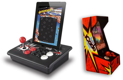 ION Audio at 2012 CES: iCade Core, iCade Jr. + iCade Mobile 1