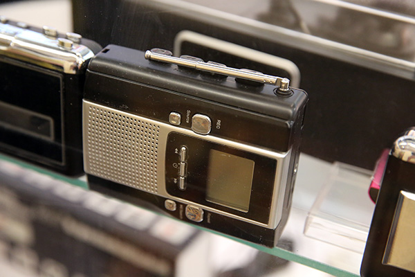 Weird at CES: iPhone cassette player, zombie case, orangutan