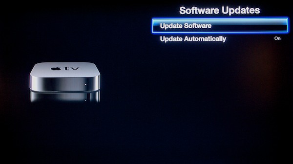 Enabling automatic Apple TV Software Updates