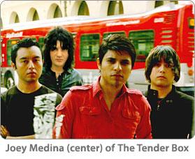 Three 6 Mafia's Juicy J, Actor/Singer Joey McIntyre, Tender Box's Joey Medina