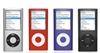 Gear Guide: InnoPocket Metal Slider Case for Apple iPod nano (4th Gen), Purple, Red, Silver Black