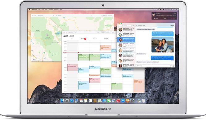 Apple OS X Yosemite 1