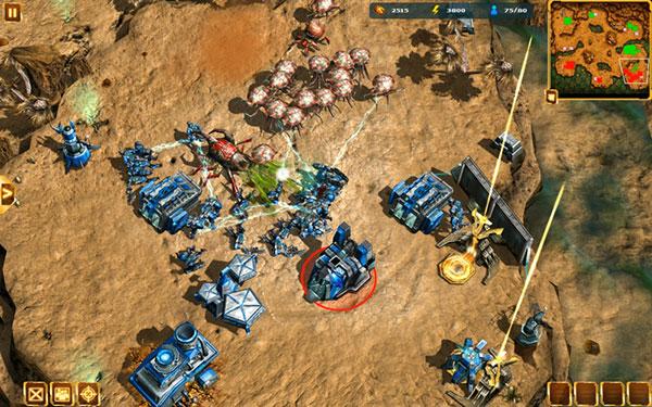 Gameloft Starfront: Collision