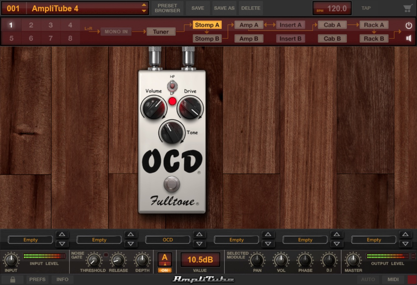 IK Multimedia Fulltone Collection for AmpliTube