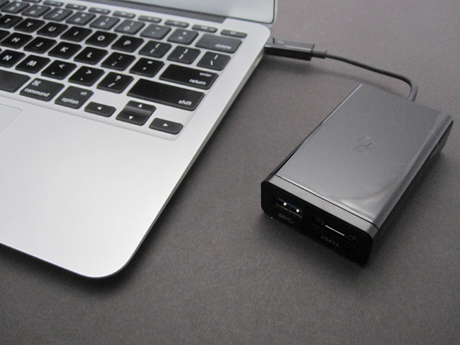 Kanex Thunderbolt to eSATA + USB 3.0 Adapter