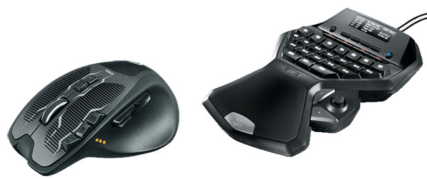 Logitech Gaming Keyboards + Mice