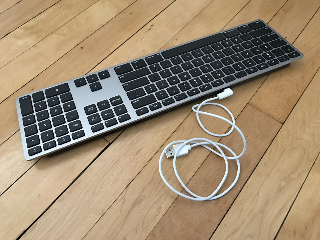 Matias Wireless Aluminum Keyboard
