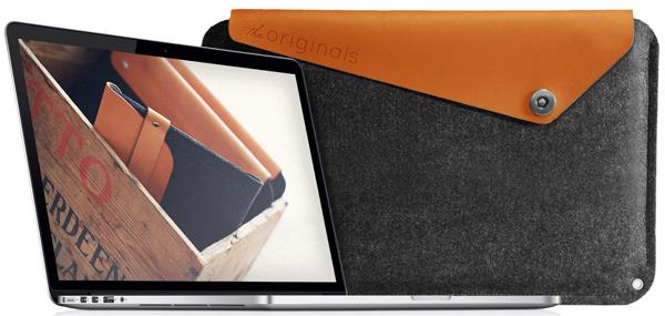 "Mujjo Sleeve for 15"" MacBook Pro with Retina Display"