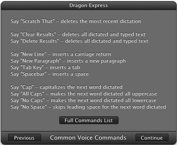 Nuance Dragon Express