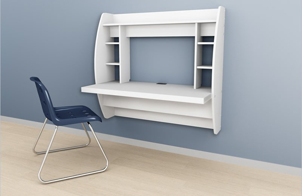 Wall Mounted corner desk  For the Home  Pinterest