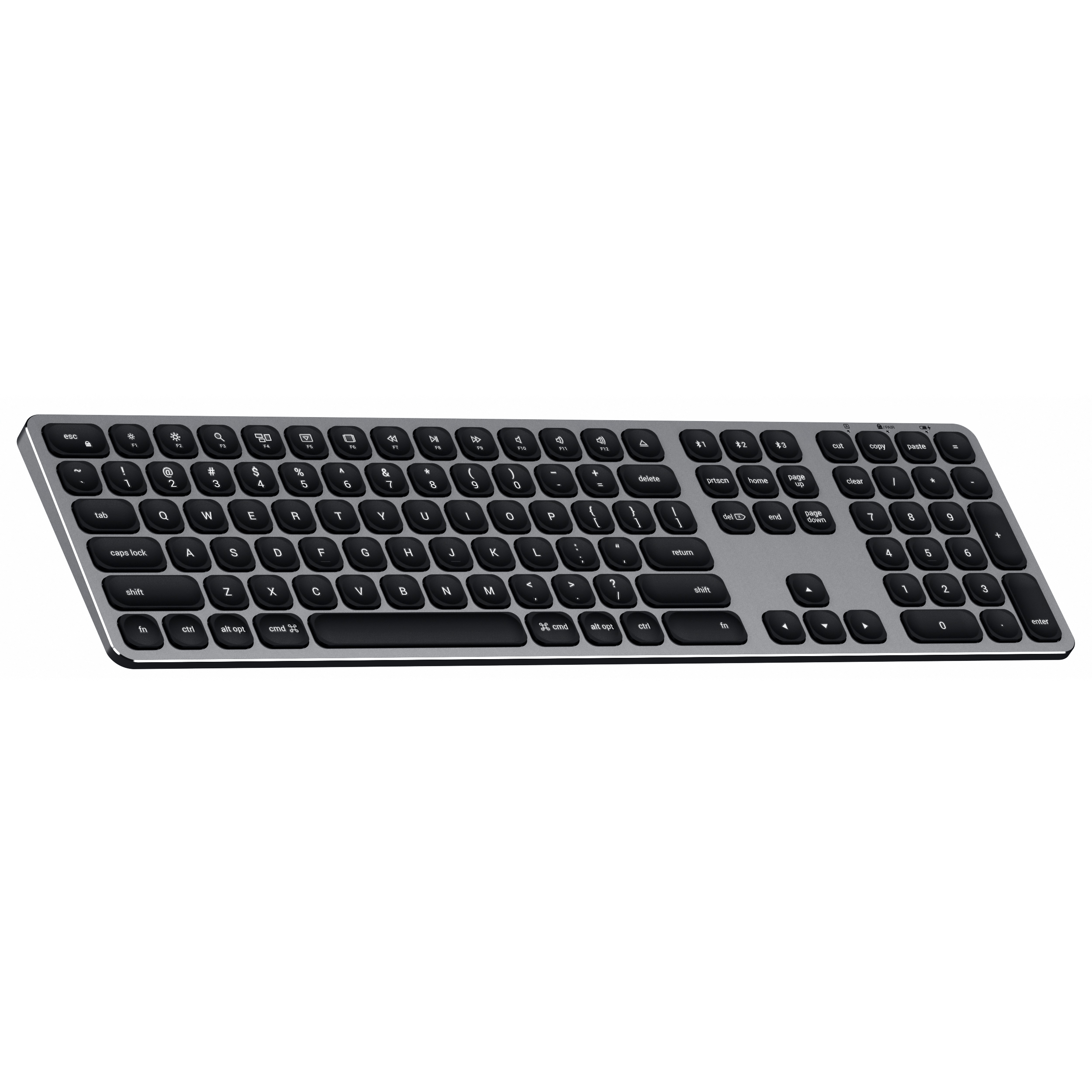 Satechi Aluminum Wired and Wireless Keyboards