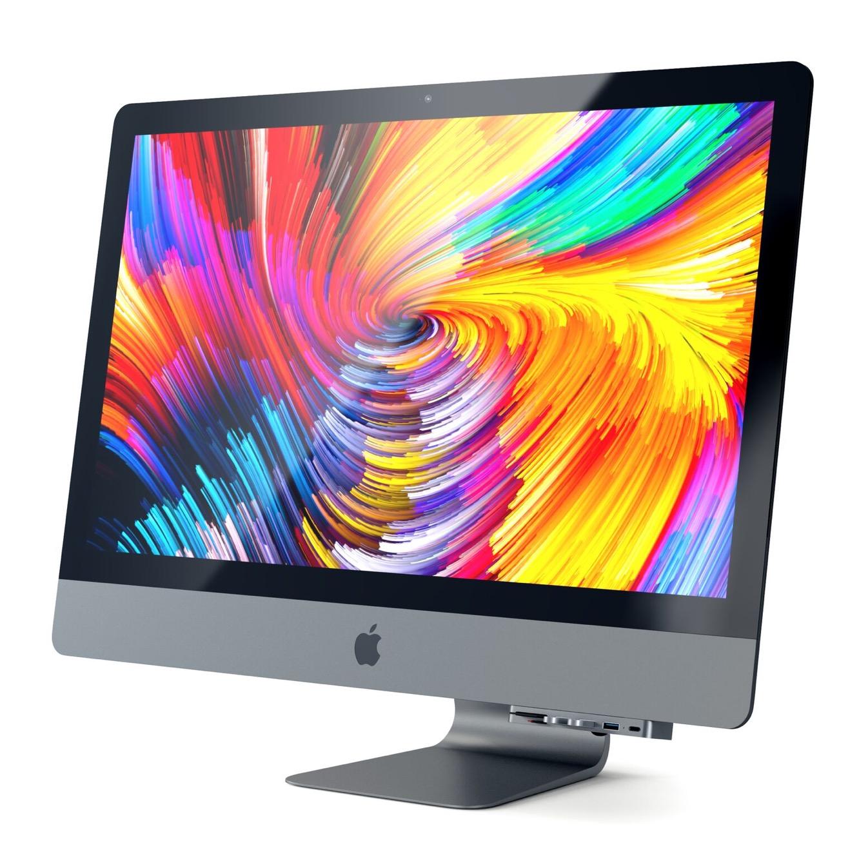 Satechi Aluminum Type-C Clamp Hub Pro for iMac