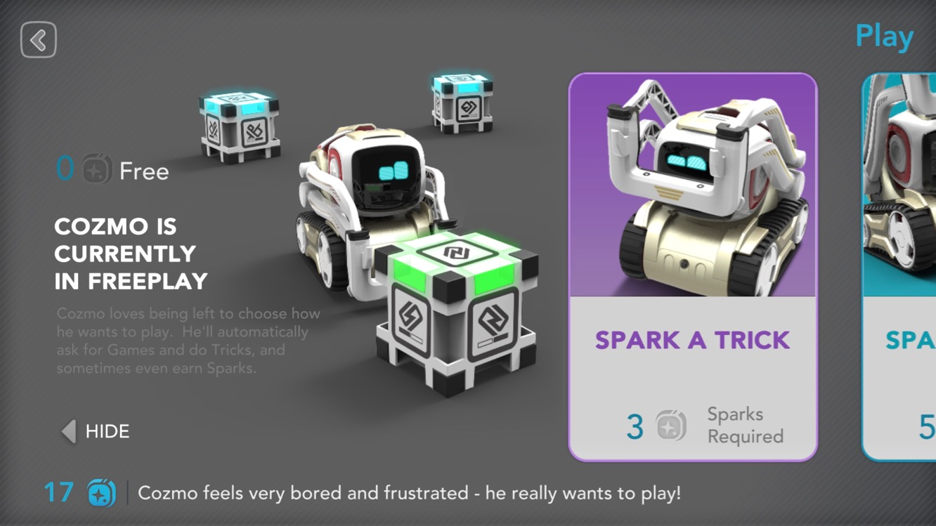News: Cozmo updates companion app to add new challenges, more depth to robot's AI