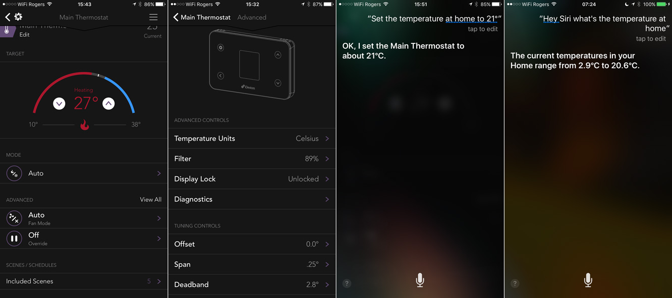 Review: iDevices Thermostat