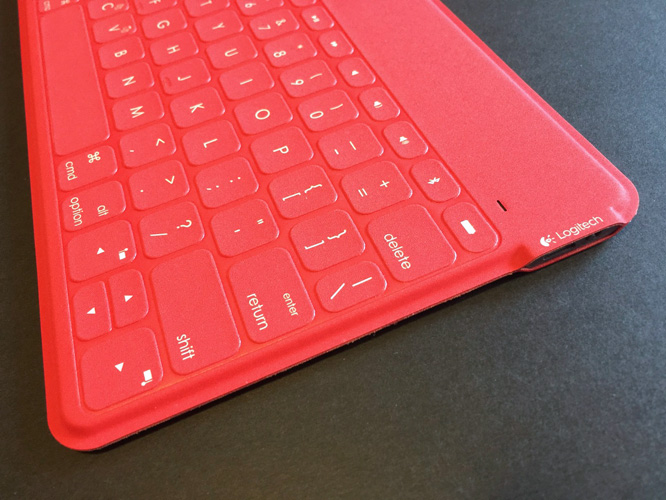 Review: Logitech Keys-to-Go For iPad