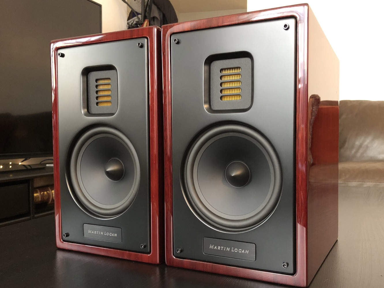 Review: MartinLogan Motion 15 Bookshelf Speakers 1