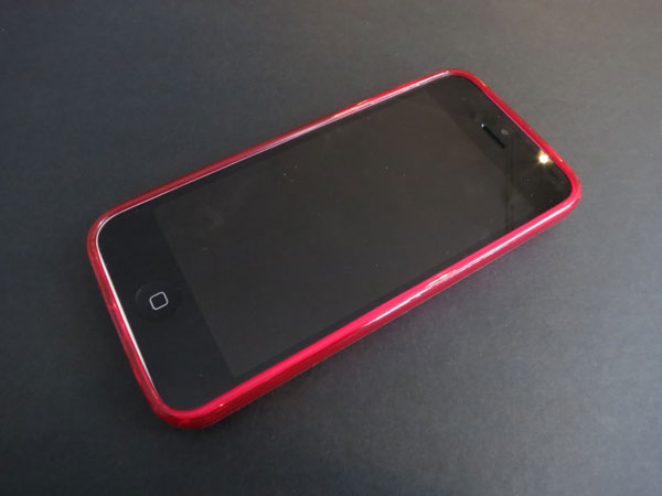 Amzer Pudding TPU Case + SlimGrip Hybrid Case for iPhone 5c