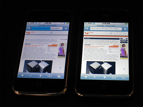 Live iPhone 3G vs. iPhone Comparison Test Results Here