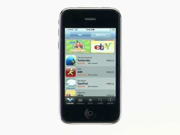 iPhone 3G See What's New video, summarized in one page