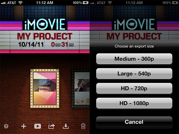 360p video dimensions for iphone