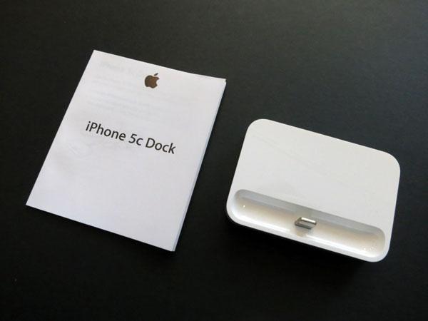 Review: Apple iPhone 5c Dock
