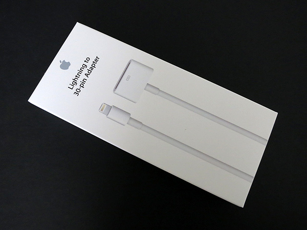 Review: Apple Lightning to 30-Pin Adapter (0.2 m)