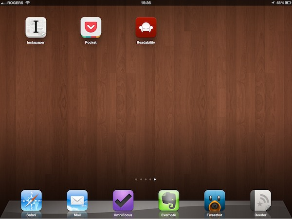 iOS Gems: Instapaper, Pocket + Readability 1