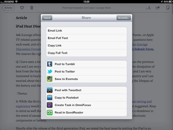 iOS Gems: Instapaper, Pocket + Readability