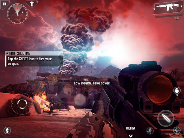 iOS Gems: Angry Birds Star Wars, Modern Combat 4, Real Boxing, Winnie the Pooh + More 10