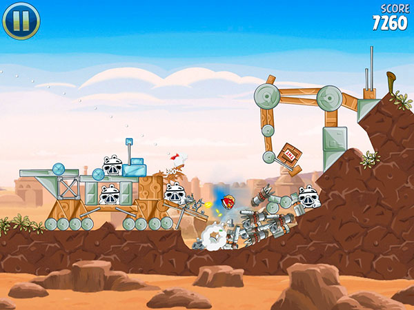 iOS Gems: Angry Birds Star Wars, Modern Combat 4, Real Boxing, Winnie the Pooh + More 2